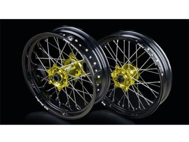 TGR RM-Z250 RM-Z450 ホイール本体 TGR レーシングホイール TYPE-R スーパーモタード用 フロント単体 ブルー ゴールド
