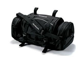 送料無料 Honda ホンダ ツーリング用バッグ Honda EX-L81 NEWタンデムドラムバッグ ブラック