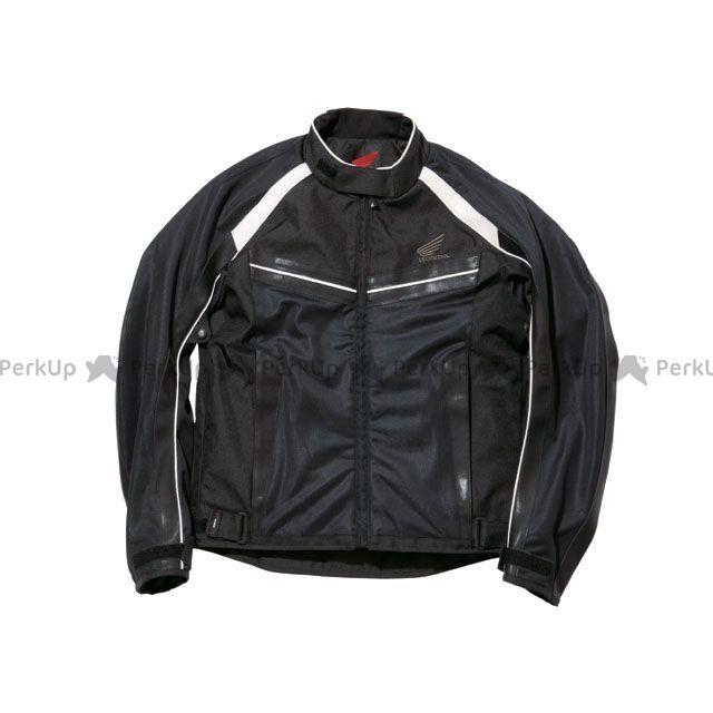 送料無料 Honda ホンダ ジャケット Honda TN-S34 ライトメッシュスポーツブルゾン ブラック M