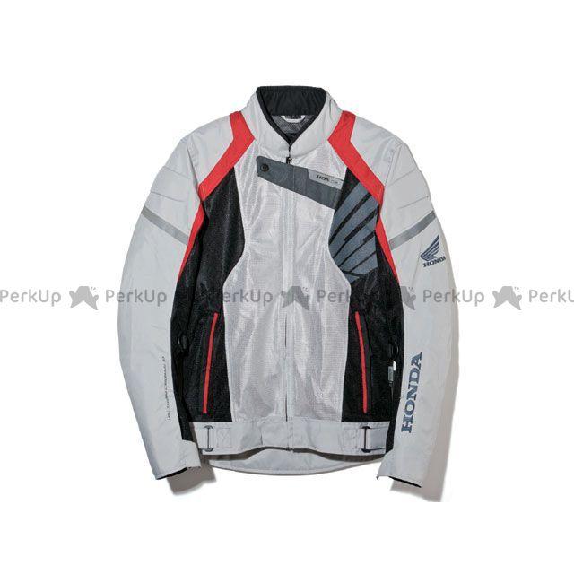 送料無料 Honda ホンダ ジャケット Honda EJ-T33 ライディングメッシュジャケット プラチナ L