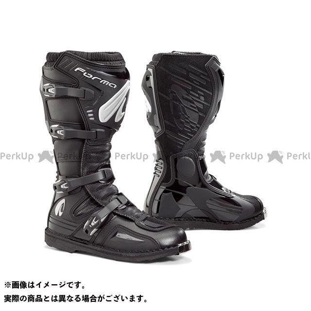 送料無料 FORMA フォーマ レーシングブーツ TERRAIN EVO(ブラック) 42/26.5cm