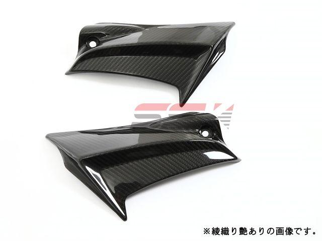 SSK GSX-R600 GSX-R750 カウル・エアロ サイドカバー 左右セット ドライカーボン 綾織り艶消し