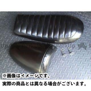 アンブ SR400 SR500 SR用リアカウル着脱式Wシート 仕様:TYPE2 カラー:ブラック ANBU