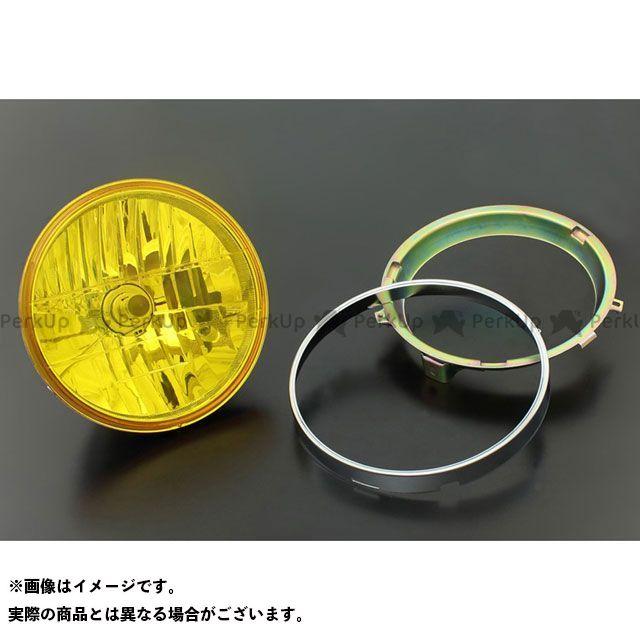ブライテック ヘッドランプ ラウンドタイプ インナーリム付ヘッドランプ対応 カラー:イエロー Brightec