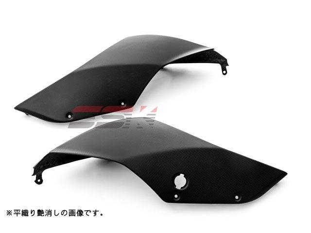 SSK 1199パニガーレ カウル・エアロ テールサイドカウル 左右セット ドライカーボン 平織り艶あり
