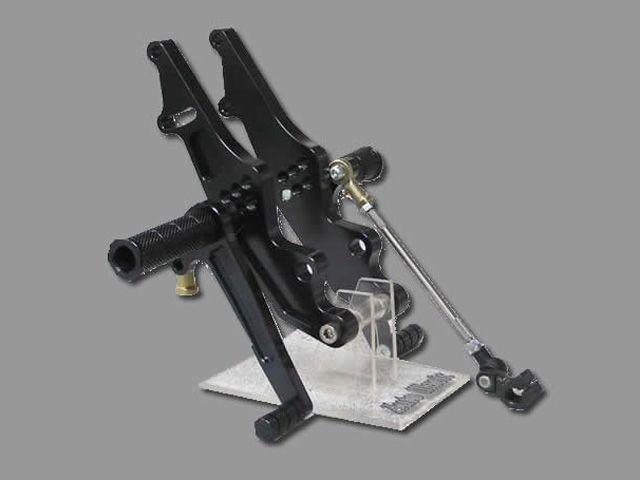 オートマジック Z1000MK- Z1・900スーパー4 バックステップ関連パーツ Z1/MK-II系 バックステップNweType ブラック