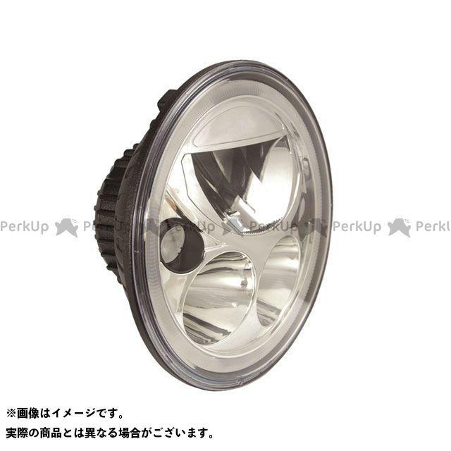 リモーション 汎用 ヘッドライト・バルブ HYPER REAL LED ヘッドライトユニット 7インチ/180mm ブラッククローム