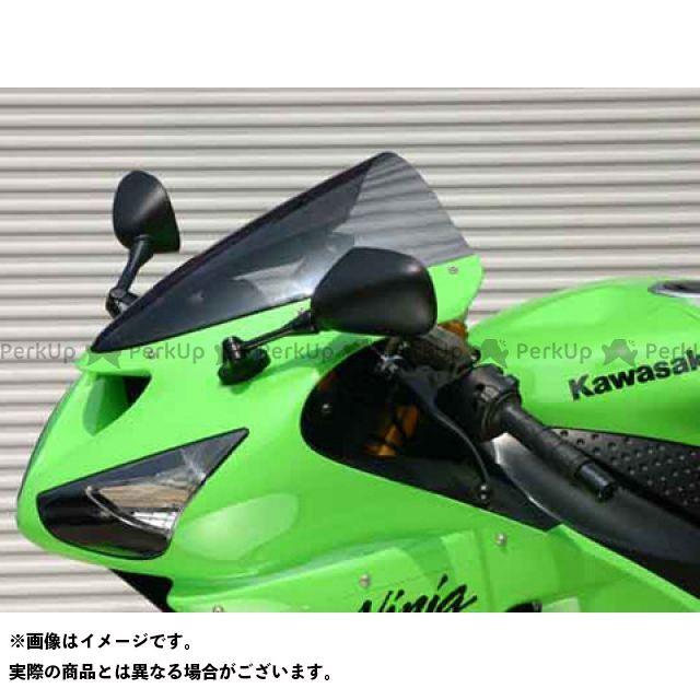 MRA ニンジャZX-10R ニンジャZX-6R ニンジャZX-6RR スクリーン オリジナル カラー:スモーク エムアールエー