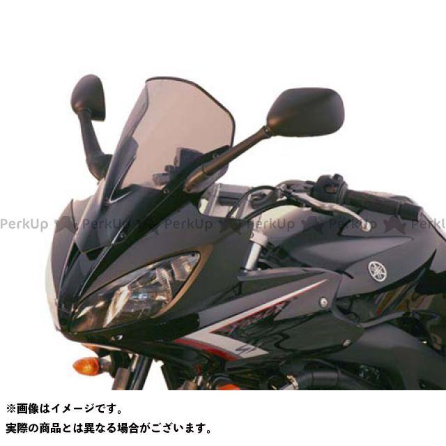 MRA FZ6フェザーS2 スクリーン レーシング カラー:スモーク エムアールエー