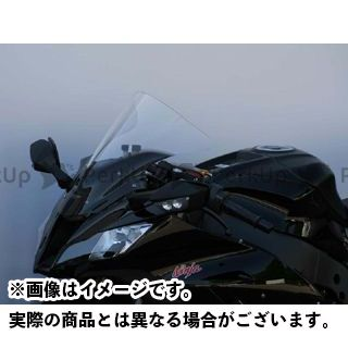 MRA ニンジャZX-10R スクリーン レーシング カラー:クリア エムアールエー