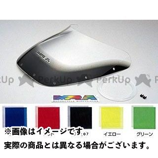 MRA FZ750 スクリーン スポイラー カラー:ブラック エムアールエー
