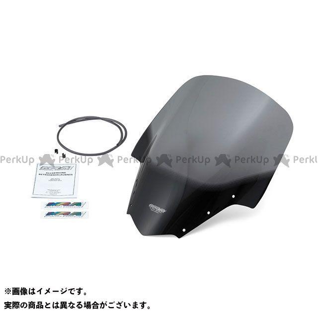 MRA FZ1フェザー(FZ-1S) スクリーン ツーリング カラー:ブラック エムアールエー