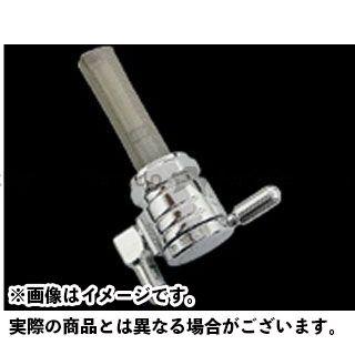 ゴランプロダクツ ハーレー汎用 クリックスリック ガスコック 22mm 仕様:ダウン カラー:クローム GOLAN PRODUCTS