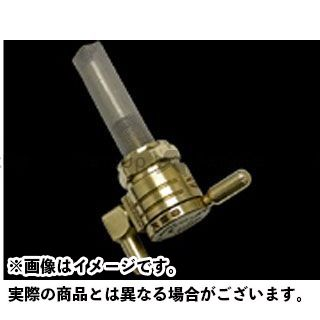 ゴランプロダクツ ハーレー汎用 クリックスリック ガスコック 22mm 仕様:ダウン カラー:ブラス GOLAN PRODUCTS