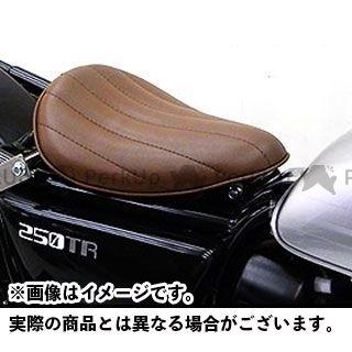 ウイルズウィン 250TR 250TR用 ソロシートキット アップバージョン タイプ:ステッチタイプ カラー:ブラウン WirusWin