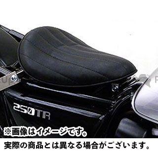 ウイルズウィン 250TR 250TR用 ソロシートキット アップバージョン タイプ:ステッチタイプ カラー:ブラック WirusWin