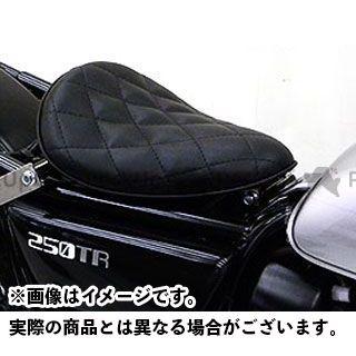ウイルズウィン 250TR 250TR用 ソロシートキット アップバージョン タイプ:ダイアタイプ カラー:ブラック WirusWin