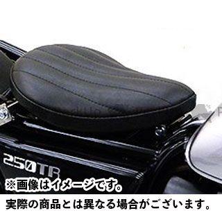 ウイルズウィン 250TR 250TR用 ソロシートキット フラットバージョン タイプ:ステッチタイプ カラー:ブラック WirusWin