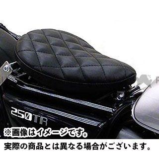 ウイルズウィン 250TR 250TR用 ソロシートキット フラットバージョン タイプ:ダイアタイプ カラー:ブラック WirusWin