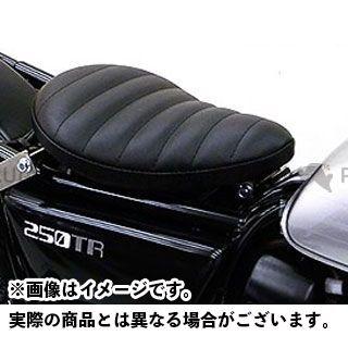 ウイルズウィン 250TR 250TR用 ソロシートキット フラットバージョン タイプ:タックロールタイプ カラー:ブラック WirusWin