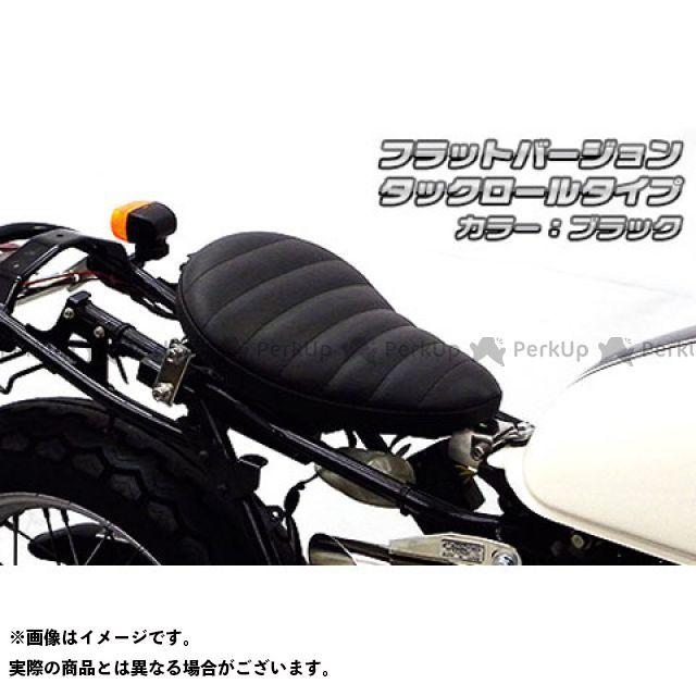 【無料雑誌付き】ウイルズウィン CB223S CB223S用 ソロシートキット フラットバージョン タイプ:タックロールタイプ カラー:ブラック WirusWin