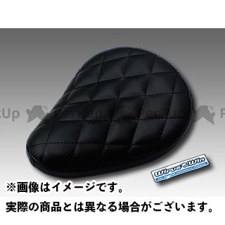 ウイルズウィン モンキー モンキー(キャブレター仕様車)用 ソロシートキット フラットバージョン タイプ:ダイアタイプ カラー:ブラック WirusWin