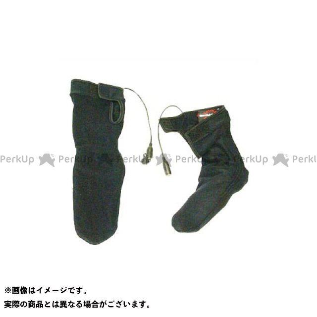 Warm&Safe WS-HS4 男女兼用ヒーテッド・ソックス(ブラック) サイズ:L ウォームアンドセーフ