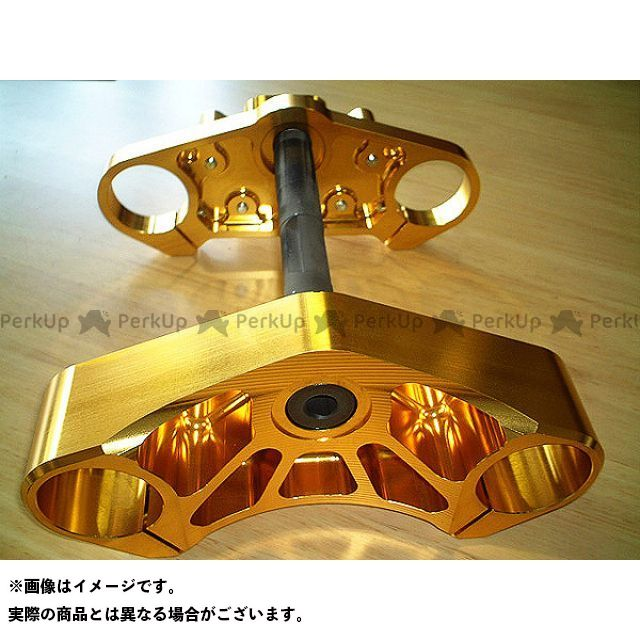 【エントリーで最大P21倍】HSC ビューエル汎用 ステアリングステム『BUELL XL系』 カラー:ゴールド エイチエスシー