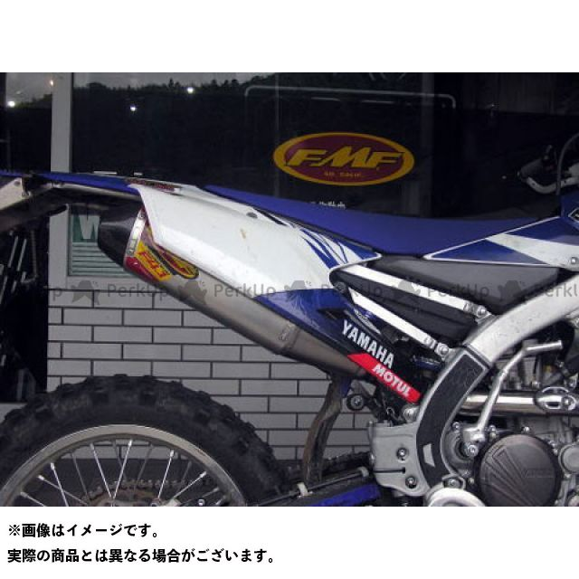 FMF 4.1 FACTORY ALUMINUM/STAINLESS YZ450F エフエムエフ RCT