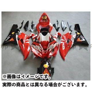 熱い販売 【エントリーで最大P19倍】CJビート YZF-R6 レーサーレプリカ外装キット YAMAHA YZFR6 06-07 カラー:サンタンデル オプション:- CJ-BEET MX, ムツシ 131328f9