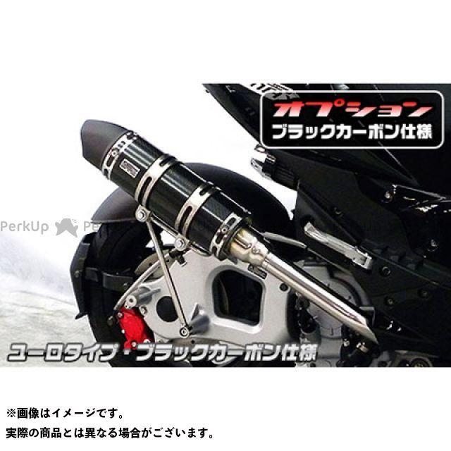 ウイルズウィン G-MAX 125 マフラー本体 G-MAX125用 ロイヤルマフラー ユーロタイプ O2センサー取付口装備 オプションB+C