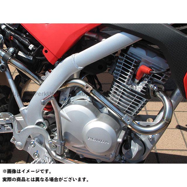 【無料雑誌付き】力造 CRF125F エキゾーストパイプ(ステンレス製) リキゾー