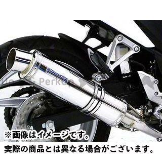 ウイルズウィン CBR250R CBR250R(JBK-MC41)用 ダイナミックマフラー スポーツタイプ【JMCA認証】 サイレンサー:ステンレス仕様 WirusWin