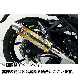 ウイルズウィン ニンジャ250R Ninja250R用ダイナミックマフラー スポーツタイプ フルパワーバージョン O2センサー取付口対応 サイレンサー:チタン仕様 WirusWin