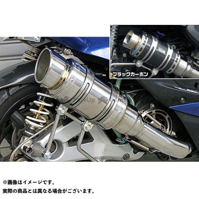 ウイルズウィン シグナスX シグナスX(3型/SE465-1MS)用 アトミックショートマフラー ポッパータイプ O2センサー取付け口付 オプション:オプションA・D WirusWin