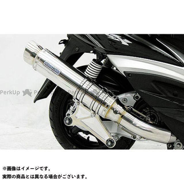 ウイルズウィン シグナスX シグナスX(3型/SE465-1MS)用 アルティメットマフラー スポーツタイプ O2センサー取付け口付 ステンレス仕様 WirusWin