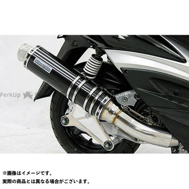 ウイルズウィン シグナスX シグナスX(3型/SE465-1MS)用 アルティメットマフラー スポーツタイプ O2センサー取付け口付 サイレンサー:ブラックカーボン仕様 WirusWin