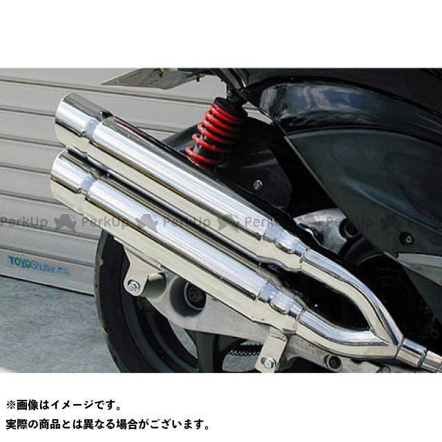 ウイルズウィン シグナスX シグナスX(3型/SE465-1MS)用 スタイリッシュツインマフラー ポッパータイプ O2センサー取付け口付 オプション:なし WirusWin