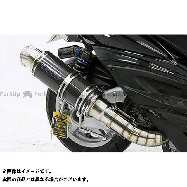 ウイルズウィン シグナスX シグナスX(3型/SE465-1MS)用 プレミアムマフラー ブラックカーボン仕様 O2センサー取付け口付 オプション:オプションB WirusWin