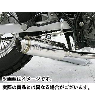 ウイルズウィン バンバン200 バンバン200(JBK-NH42A)用 ドラッグバイソンマフラー スポーツタイプ  WirusWin