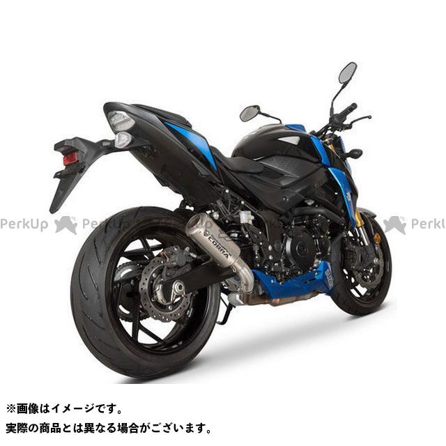 コブラ GSR750 GSX-S750 SP1 Slip-on Road Legal/EEC/ABE homologated Suzuki GSR 750/GSX-S 750 COBRA