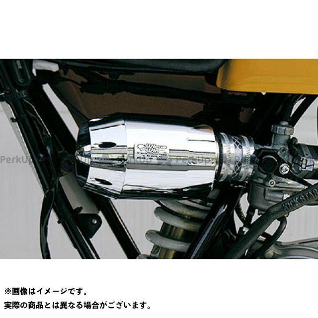 ウイルズウィン WirusWin エアクリーナー 吸気 燃料系 人気 無料雑誌付き 100用 ブリーズタイプ 今季も再入荷 カラー:シルバーメッキ エイプ100 エアクリーナーキット エイプ50