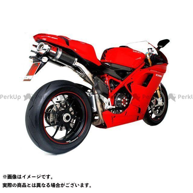 【エントリーで最大P23倍】スコーピオン 1098 1098R 1098S Factory オーバルスリップオン Carbon Fibre Sleeve Ducati 1098/ 1098S/ 1098R 2007-2009 | EDI61CEO SC…