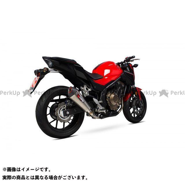 【エントリーで最大P23倍】SCORPION CB500F CB500X Serket スリップオン Titanium Sleeve Homologated Honda CB 500F/X 2016-2018   RHA176TEO SCORPION
