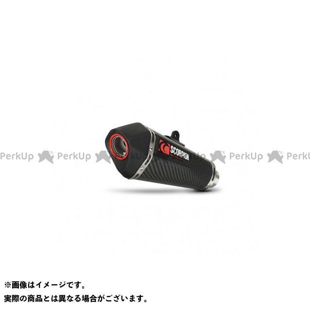 【エントリーで最大P23倍】SCORPION CBR125R Serket テーパーフルシステム Carbon Fibre Sleeve Homologated Honda CBR 125 R 2011-201   RHA151CEO SCORPION