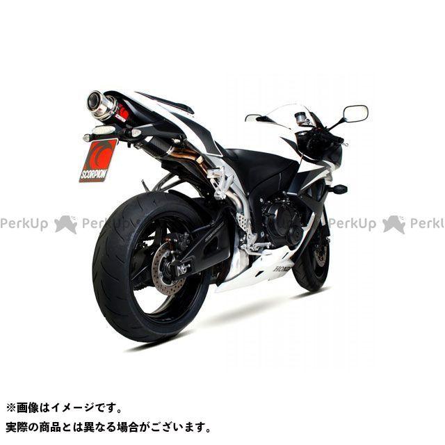 【エントリーで最大P21倍】SCORPION CBR600RR Stealth スリップオン Carbon Fibre Sleeve Homologated Honda CBR 600 RR 2007-2012 | HA102CEO SCORPION