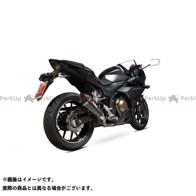 【エントリーで最大P23倍】SCORPION CBR500R Serket Taper Slip-on Carbon Fibre Sleeve EC Approved | RHA180CEO SCORPION