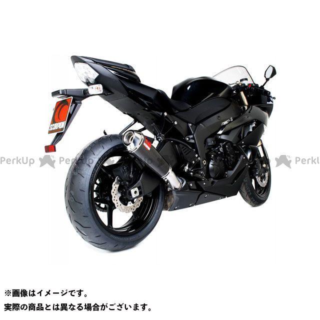 | 09-1 ニンジャZX-6R Power カーボンファイバースリーブ Homologated スコーピオン SCORPION EKA85CEO スリップオン Kawasaki ZX-6R Cone(パワーコン) Ninja