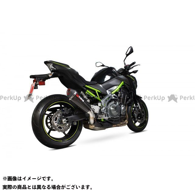 【エントリーで最大P23倍】SCORPION Z900 Serket(Taper)テーパースリップオン Carbon Fibre Sleeve Homologated Kawasaki Z900 2017 | RKA114CEO SCORPION