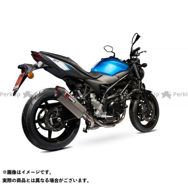 【エントリーで最大P23倍】SCORPION SV650 Serket スリップオン チタンスリーブ Homologated Suzuki SV 650 16-Current 2016-2018 | RSI120TEO SCORPION